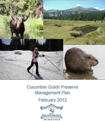 Cucumber Gulch Preserve Management Plan