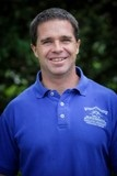 Head shot of Chris Hughes - Breckenridge Rec Personal Trainer in blue staff shirt