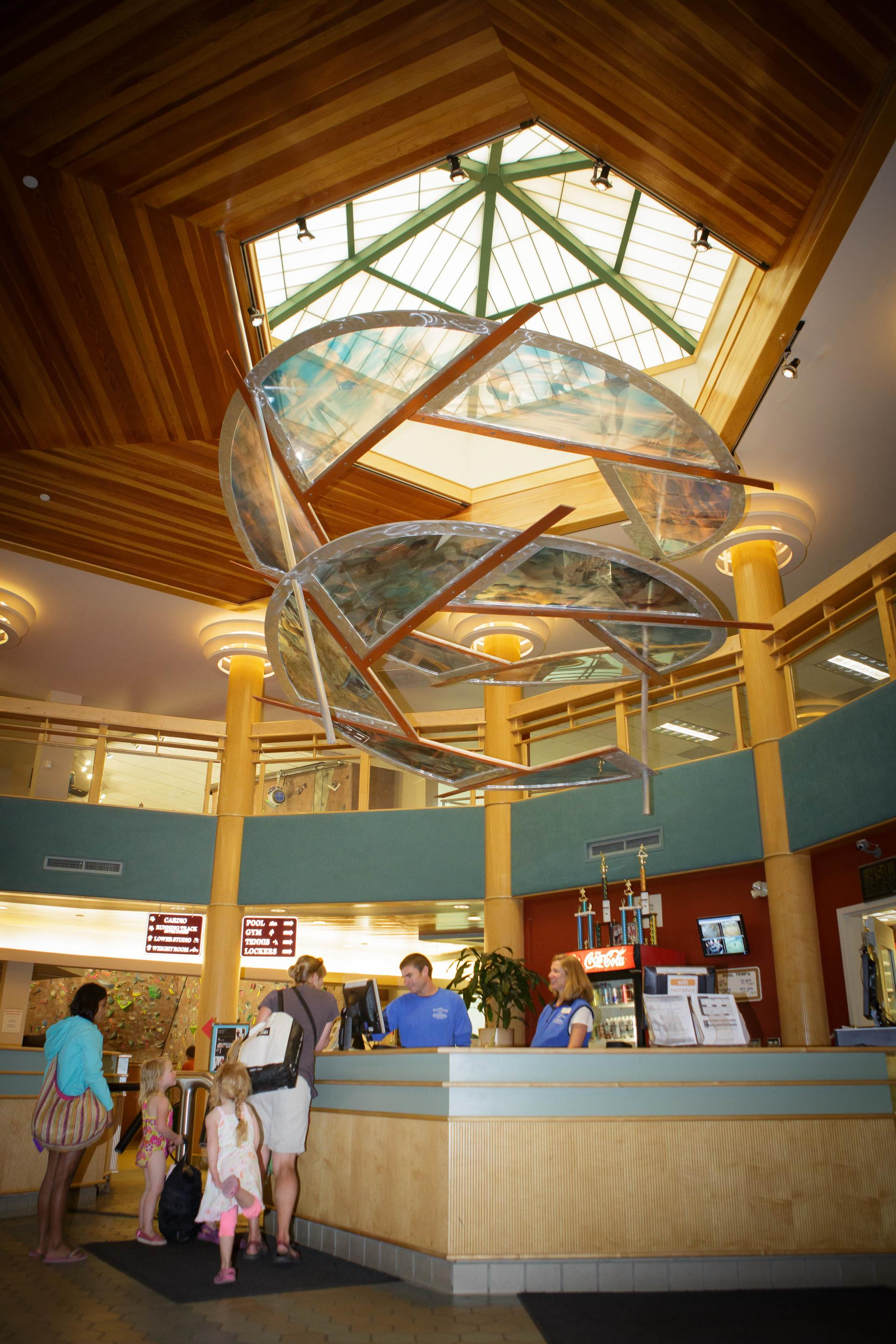 Breckenridge Recreation Center Front Desk