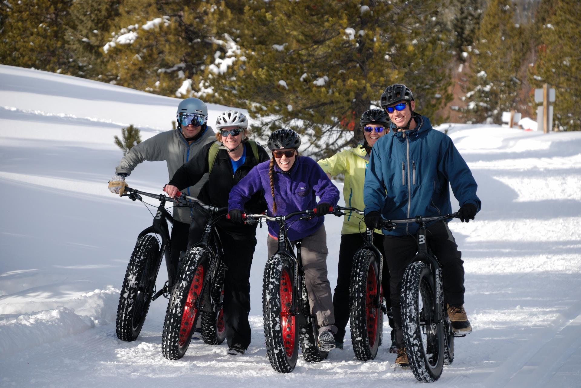Fat Biking at Gold Run Nordic Center
