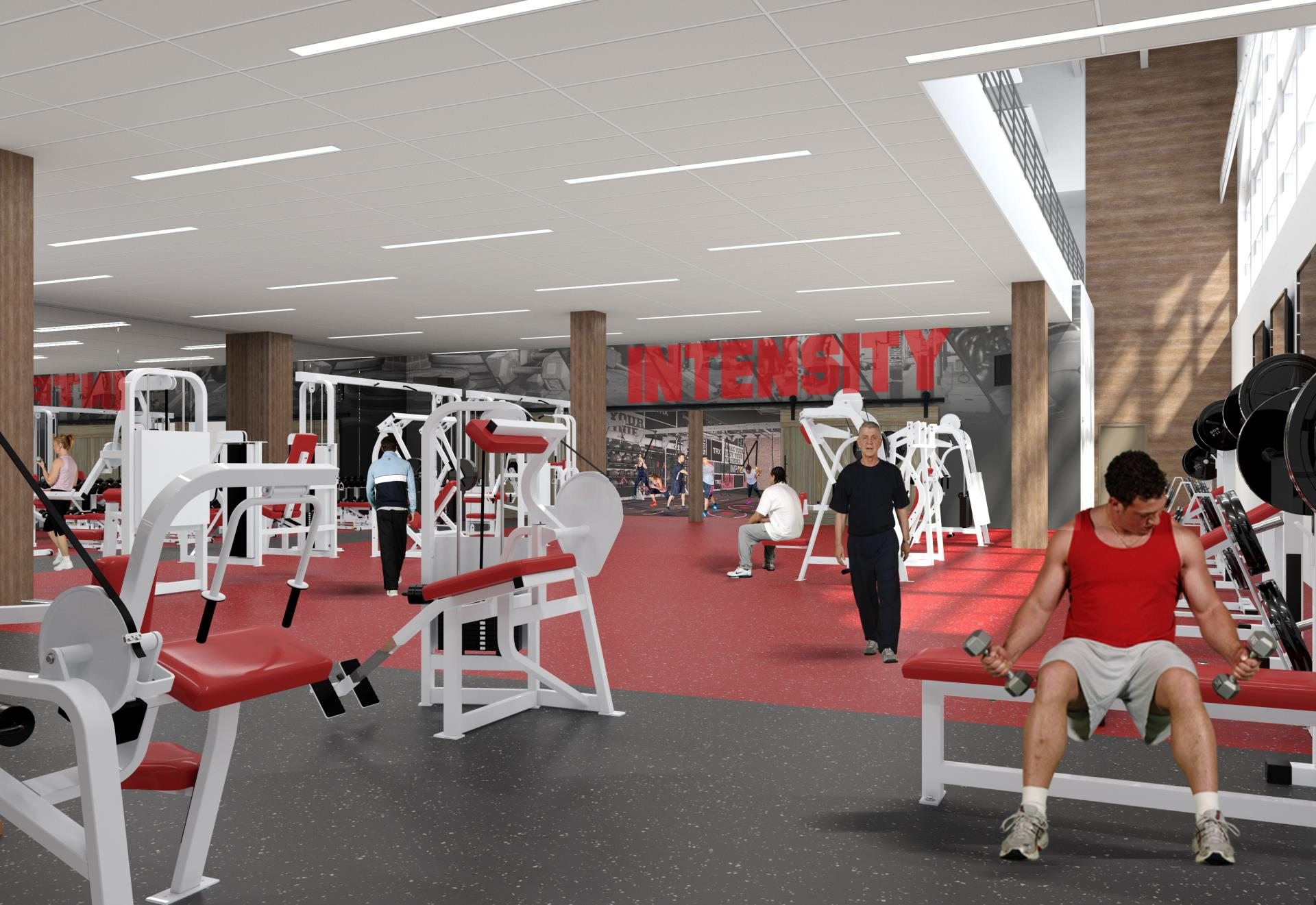 Breckenridge Recreation Center Weight Room