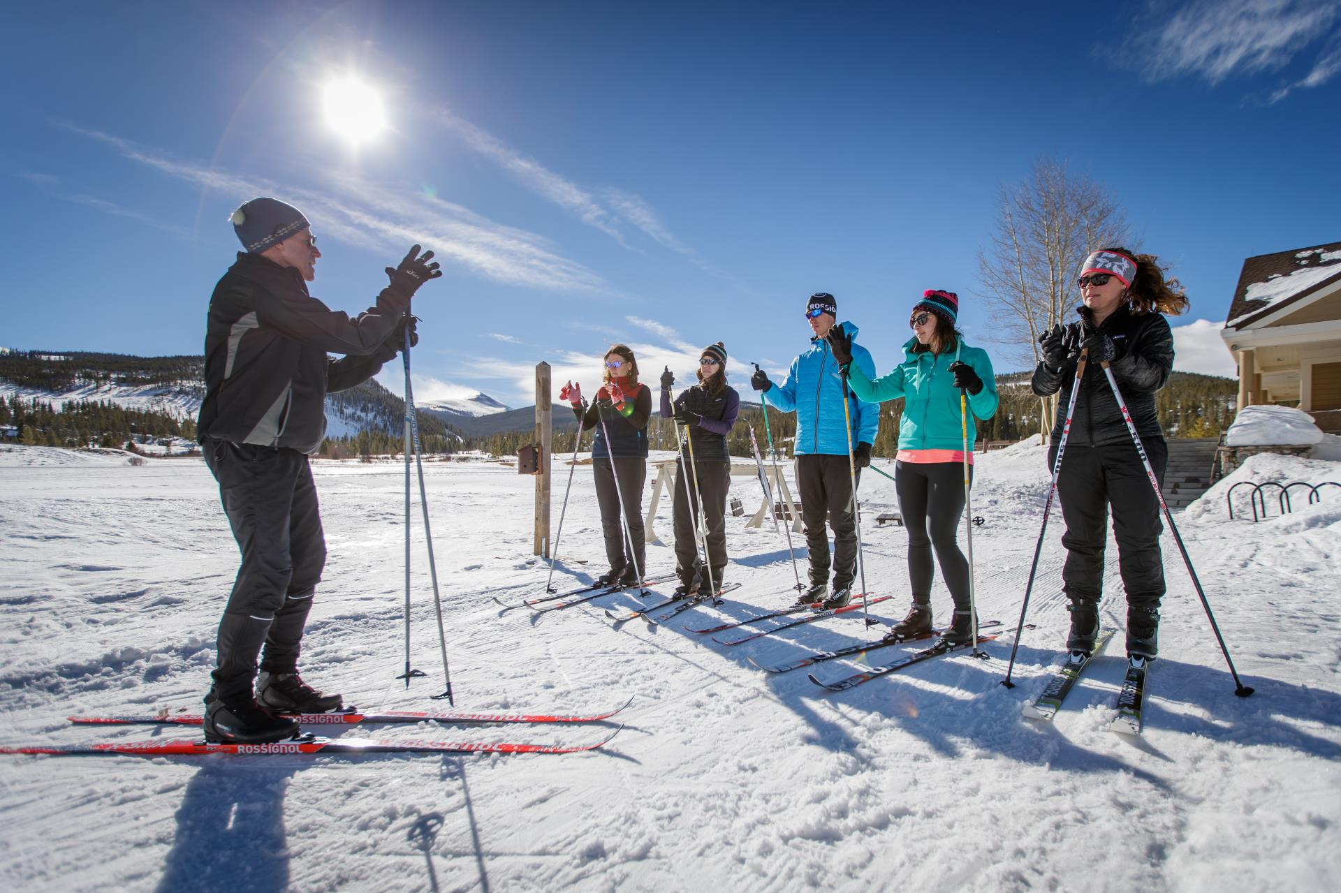 Gold Run Nordic Center Group Lesson