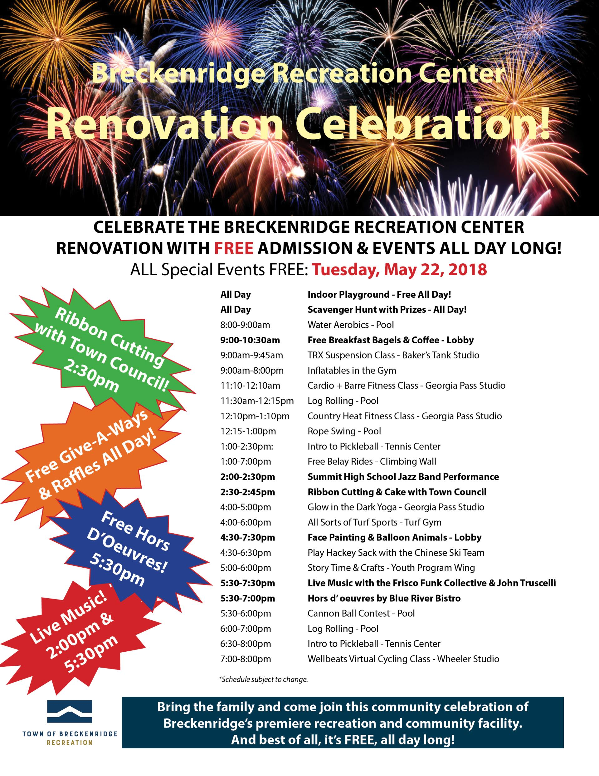 Recreation Celebration | Breckenridge Recreation