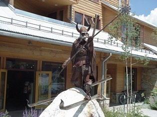 Statue of ULLR - Norse God of Snow