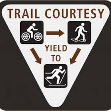 Trail Courtsey winter etiq