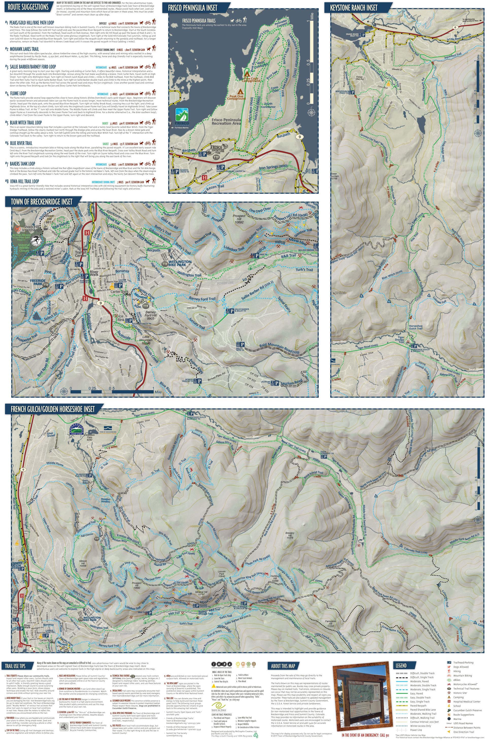 Trail Maps   Breckenridge Recreation